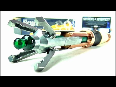 DOCTOR WHO 12TH Doctor Sonic Screwdriver Universal Remote Replica Review | Votesaxon07