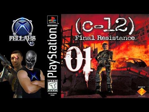 C-12 Final Resistance (PS1) 100% Legendado em PT BR - HD 1080p 60fps - Parte 01