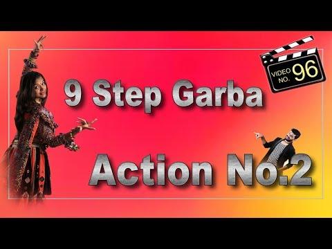 Dholida Song  9 Step Garba  Dodhiya action No2   Tutorial Video  Sathiya Garba