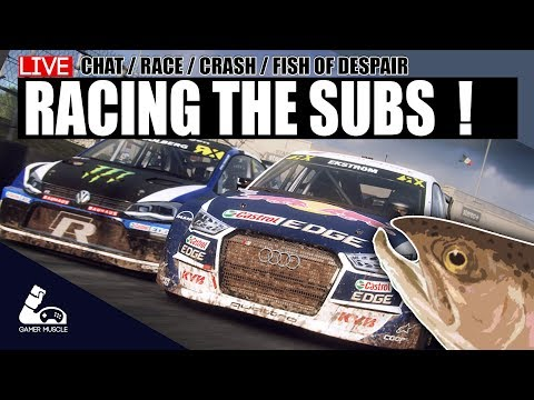 RACING WITH SUBS - DIRT RALLY 2.0 - ASSETTO CORSA - PROJECT CARS 2
