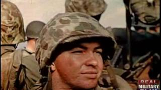 Color WWII - Raw Footage, Graphic - Assault on Iwo Jima (Part 1)