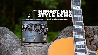 J. Rockett Audio Designs CLOCKWORK Echo: Finally a delay that can do the Memory Man thing!