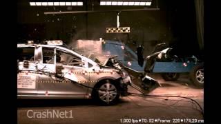 Toyota Yaris | 2010 | 20% Small Overlap Crash Test | NHTSA | CrashNet1