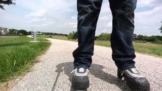 #39 Testing my kickroller skates. They did not last.