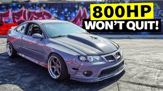 homepage tile video photo for 800hp Supercharged GTO Smokes Out our Lot. Build Breakdown is Back!!