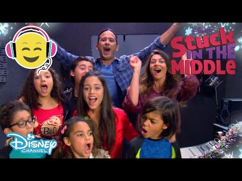 Stuck in the Middle | Jingle Bells - Christmas Song!  | Official Disney Channel UK