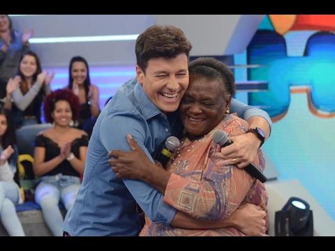 Rodrigo Faro 19/02/2017 Dona Nena (A Vovó Da Escolinha) No Programa