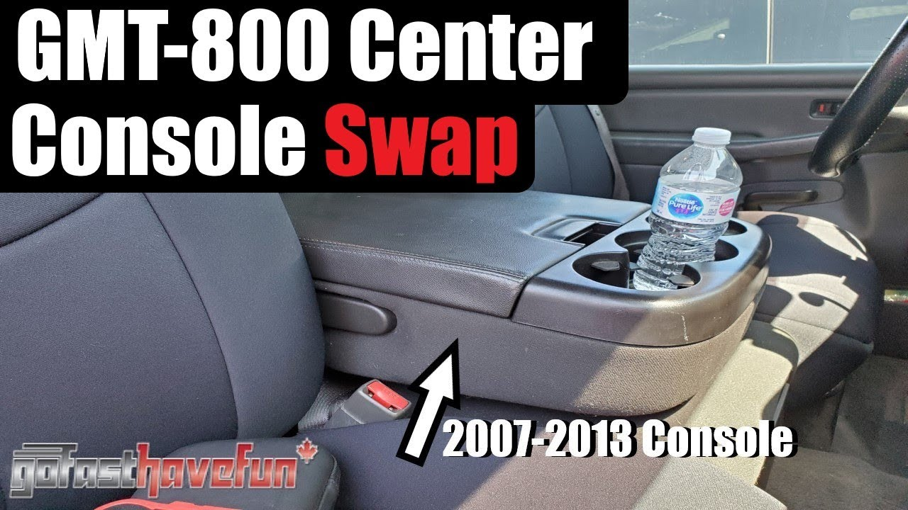GMT-800 NBS (1999-2006) Silverado Center Console Jump Seat swap to  2007-2013 NNBS | AnthonyJ350