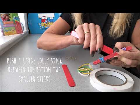 Make it Monday - How to Make a Catapult!
