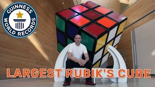 The Biggest Rubik's Cube in the World! - Guinness World Records