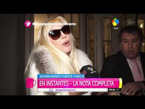 Fuerte apoyo de Susana al ajuste de Macri: Hay que ponerle el hombro