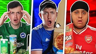 OFFSIDERS EAT ONE COLOUR FOOD FOR 24 HOURS CHALLENGE!