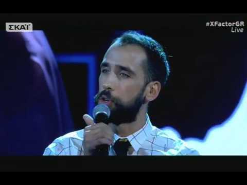 Χ FACTOR 2 GREECE 2017 | LIVE SHOW FOUR | Βασίλης Πορφυράκης