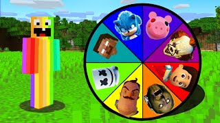Minecraft : DO NOT SPIN THE SCARY WHEEL!(Ps3/Xbox360/PS4/XboxOne/PE/MCPE)
