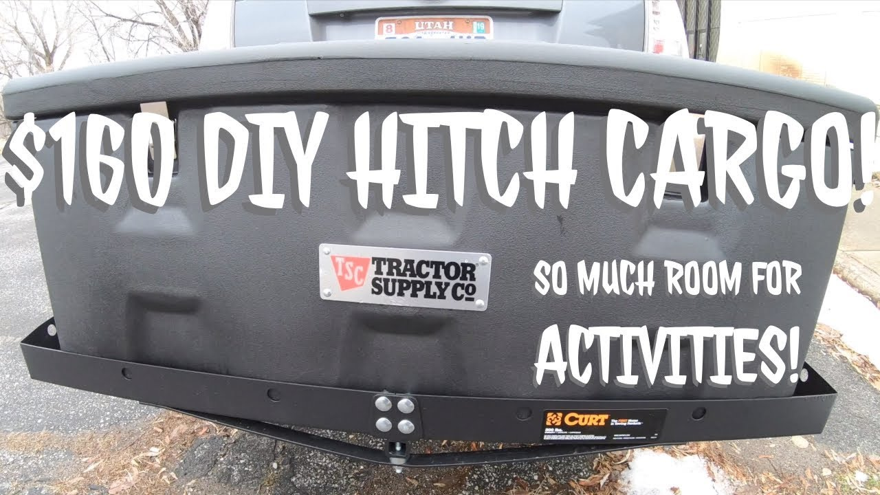 Diy Hitch Cargo Carrier 160 Youtube