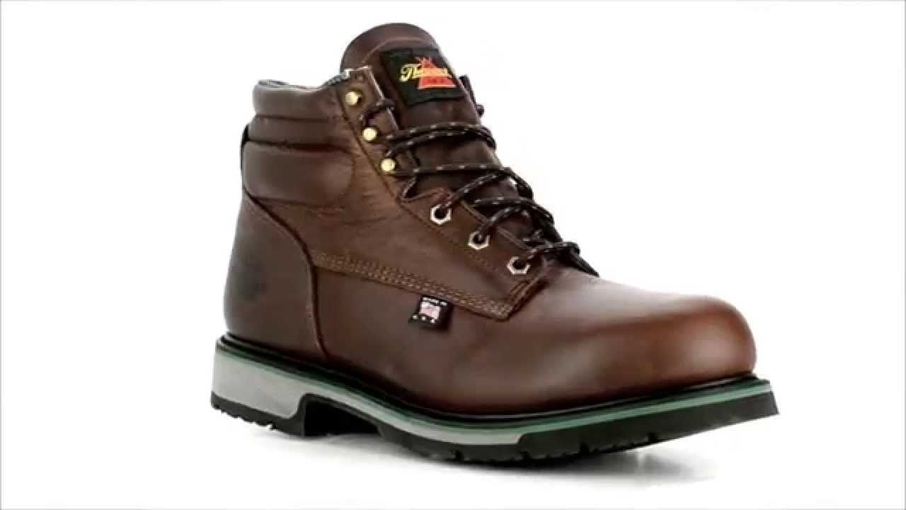 5d9df9eed3e Men's Thorogood 6 Inch Steel Toe American Made Work Boot 804-4711 @  Steel-Toe-Shoes.com