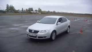 Volkswagen Passat B5 полицейский разворот. Уроки экстремального вождения Киев