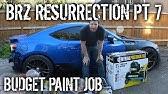 BRZ Resurrection Pt 7 - Budget Paint Job & Cutting Rear Fenders