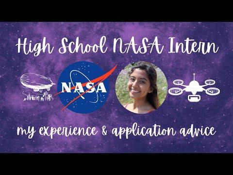 high school NASA intern | my experience & application advice