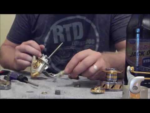 How to take apart a Spinning Reel (Preventative Maintenance)