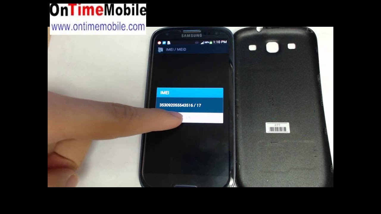 Samsung Galaxy S3 Mini – How to find your IMEI address ...