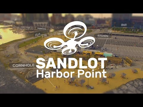 Sandlot - The Drone Tour - Harbor Point, Baltimore Maryland