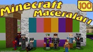 Kötü Adamlar Örümcek Köyünde Hazine Buldu Minecraft Maceralari 100. Bölüm