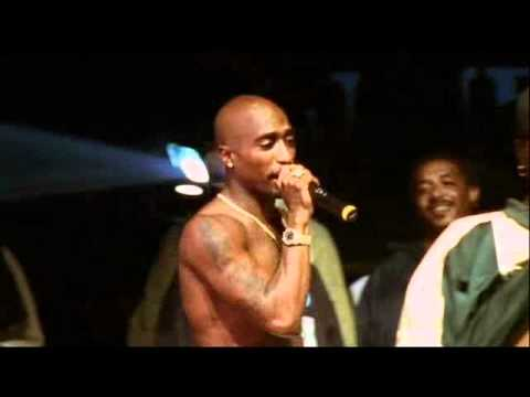 2Pac - I Ain't Mad at Cha (LIVE) *Rare