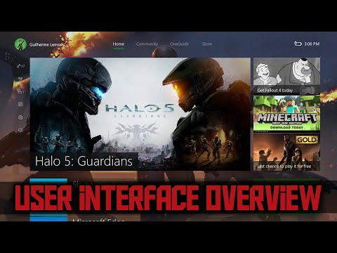 NEW XBOX ONE DASHBOARD EXPERIENCE WALKTHROUGH (New Xbox One User Interface Overview)