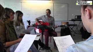 VIDEO. Raoul Tellier s'invite au lycée de Chef-Boutonne (Deu