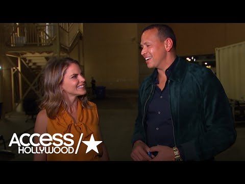 Alex Rodriguez Says He Loves To Come & Support Jennifer Lopez's Las Vegas Show | Access Hollywood