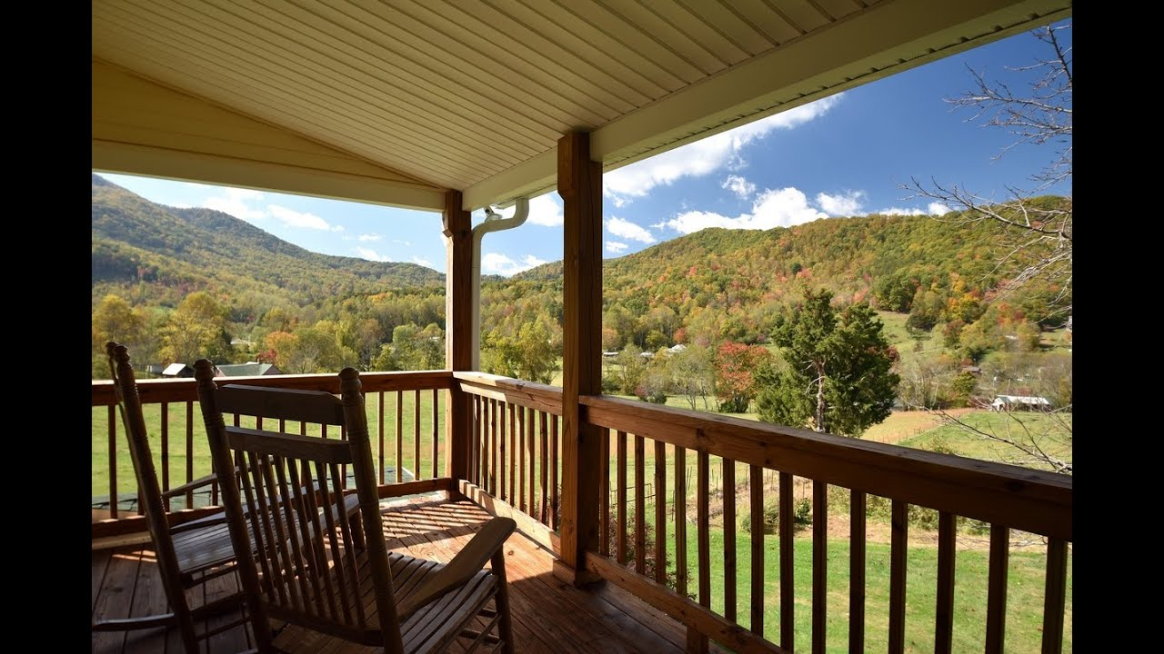 Asheville mountain views a vacation rental in western for Asheville mountain homes