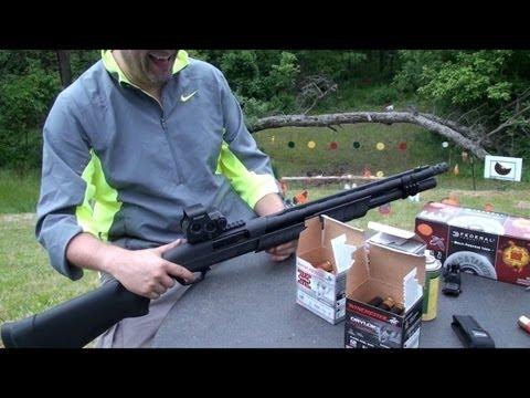 Escopeta Remington M887 Nitro Mag Táctica, en Español