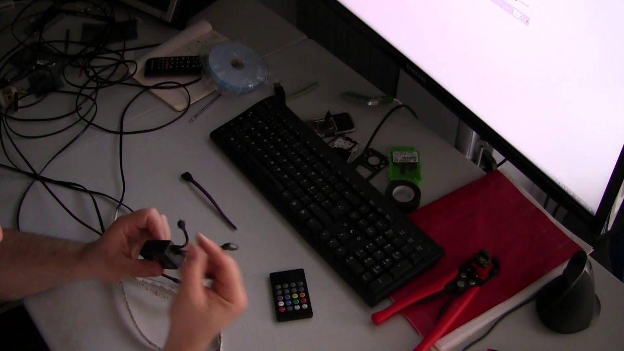 Plafoniere Per Interni Auto : Come installare il kit luci led sull auto cortesia strobo