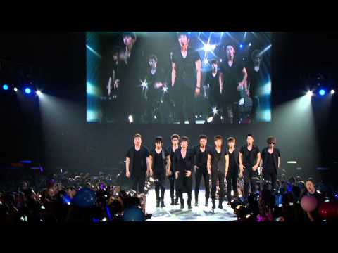 Super Junior - Sorry Sorry (Remix) (100904 SM Town in L A) (Samsung Demo)