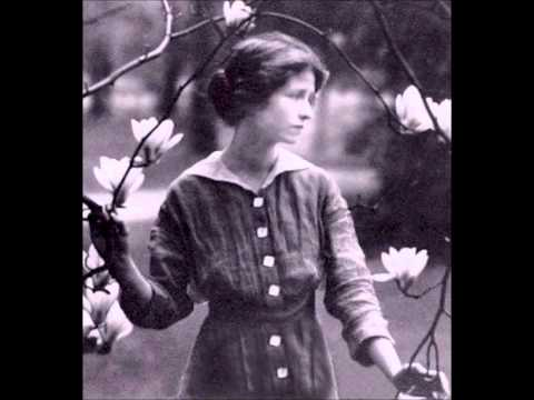 Edna St. Vincent Millay reads