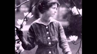 "Edna St. Vincent Millay reads ""Childhood Is The Kingdom Where Nobody Dies"""
