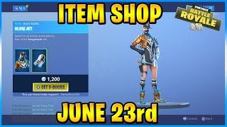 NEW Biz Skin and Bizzy Wrap! | FORTNITE ITEM SHOP TODAY! (June 23rd, 2019)