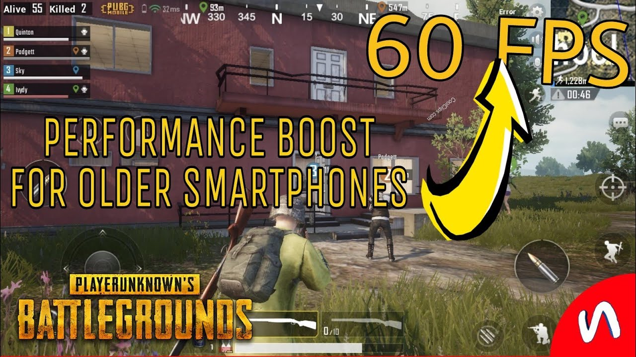 How To Increase FPS/Performance In PUBG MOBILE For Old