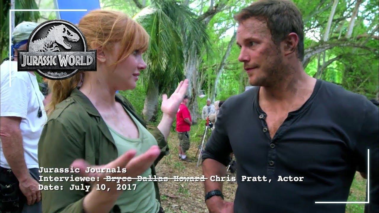 Jurassic World: Fallen Kingdom  Bryce Interviews Chris  Own it 9/4 on Digital, 9/18 on Blu-ray & DVD