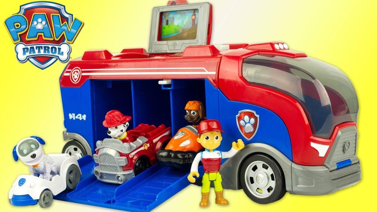 paw patrol mission cruiser pat patrouille camion mission secr te jouet toy review patrulla. Black Bedroom Furniture Sets. Home Design Ideas