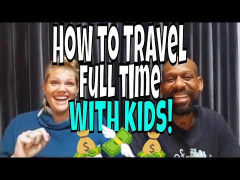 How we afford full time family travel in 2019! Not a Vlog: 1