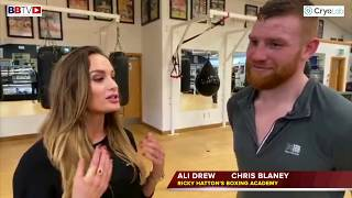 CHRIS BLANEY ON CHANGES IN CAMP AND NEXT FIGHT DEC 7TH, WANTS IRISH TITLE IN 2020