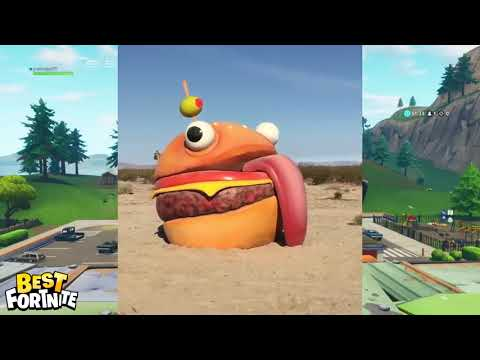 *REAL* DURR BURGER FOUND IN DESERT ! FORTNITE SEASON 5 LEAK !