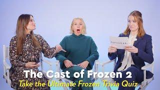 The Frozen 2 Cast Take the Ultimate Frozen Trivia Quiz   POPSUGAR Pop Quiz