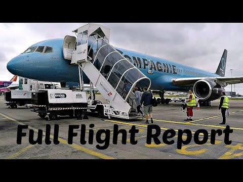 Flight Report | La Compagnie Boutique Boeing 757 All Business Class London to Newark