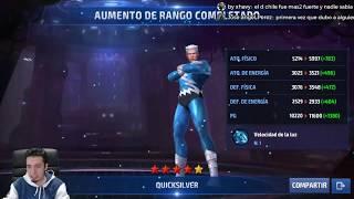 DIRECTO Subiendo a MERCURIO Máximo Poder Pruebas 15 segundos y CABLE Marvel Future Fight QUICKSILVER