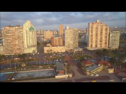 DRONE FOOTAGE OF DURBAN SOUTH AFRICA - WARMEST PLACE TO BE