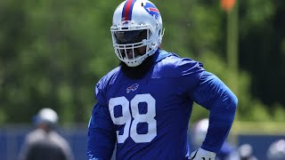 Bills minicamp Day 1 observations: Star Lotulelei's return & which WR is turning heads?