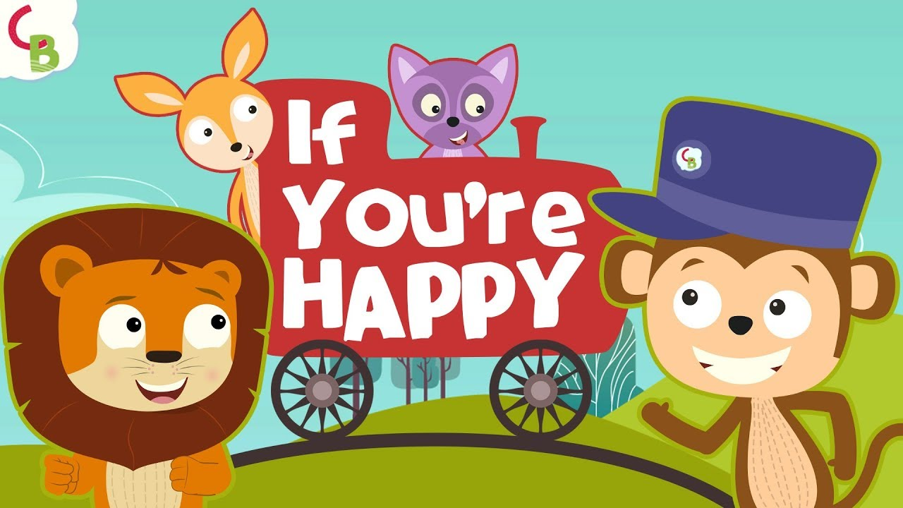 If You're Happy and You Know It Clap Your Hands Song - Nursery Rhymes & Baby Songs by Cuddl
